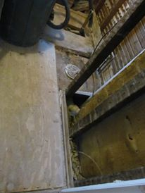 Wanted to expose the brick but it was too ugly